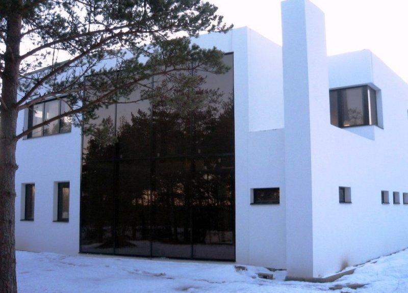 [:et]Maja klaasfassaad[:fi]Talon lasijulkisivu [:ru]Стеклянный фасад дома