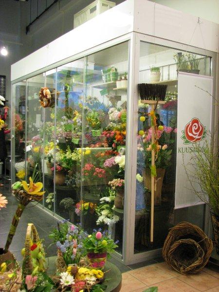 [:et]Klaasist lillekülmik[:fi]Lasinen kukkakylmiö [:ru]Цветочный холодильник из стекла