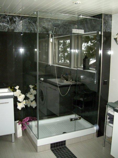 [:et]Klaasist dushinurk[:fi]Lasinen suihkunurkka [:ru]Стеклянная душевая кабинка